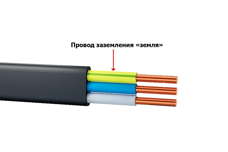 Цвет провода заземления