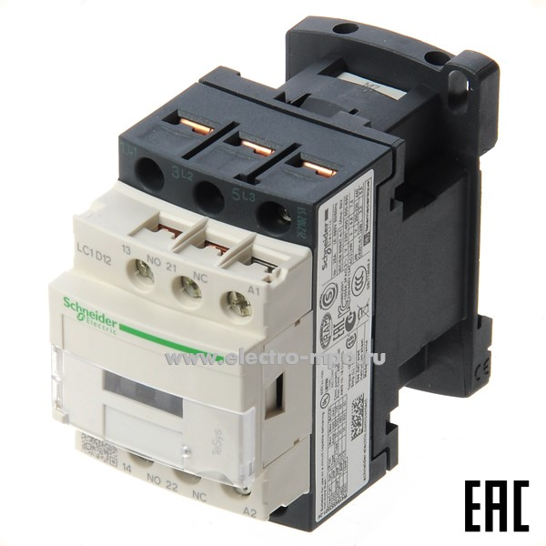 А8068. Контактор LC1D32M7 220В 32А 1з+1р (Schneider Electric)