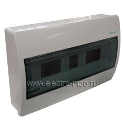 "Е3683. Бокс BC-O-1/18-ECO 280348 навесной 18 модулей прозрачная дверь IP40 (Eaton) | ЗАО ""МПО Электромонтаж"""