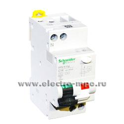 А2270. Дифф. автомат Acti 9 DPN N Vigi A9N19667 (тип АС) 25А-30мА 230В 1P+N 6кА (Schneider Electric)