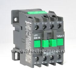 К8601. Контактор LC1E0910B5 24В 9А 1з (Schneider Electric)