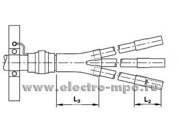 Муфта соединит. SMOE 81142 термоусаж. 1кВ (15-21)х(1,5)